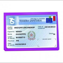 Porta Card Bustina cm 9×6  Pastello