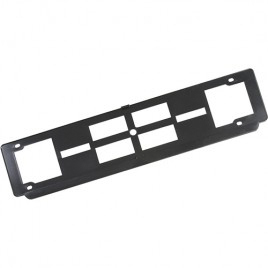 Portatarga posteriore auto Trim cm 52,5×13