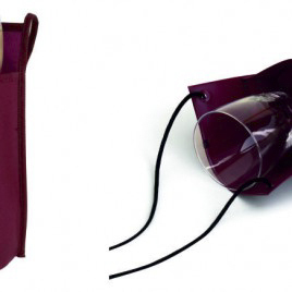 Porta bicchiere da degustazione cm 18x22x10