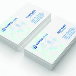 Bigliettini da visita cm 5,4×8,4 plastificati