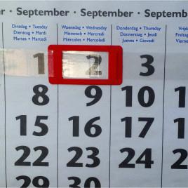 Cursori per calendario EB114