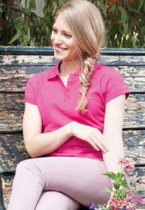 Regular Polo Lady manica corta – Colorata
