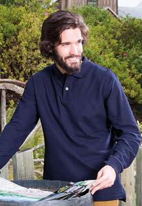 Regular Polo Uomo manica lunga – Colorata
