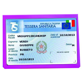 Porta Card Bustina Pastello