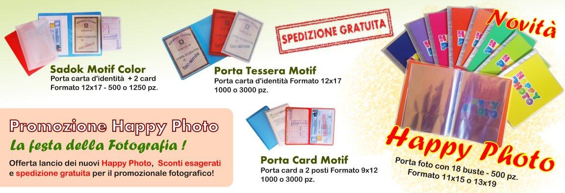 Promozione HappyPhoto, Porta Tessera e Porta Card