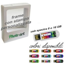 Promo: Pendrive Usb Spectra + Frame personalizzato