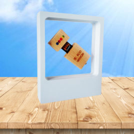 Pacchetto Laura (USB Eco Wood + Frame)
