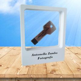 Pacchetto Valeria (USB Stick Alu Key + Frame)