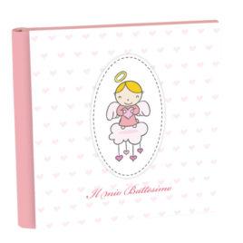 Album Battesimo Cielo Rosa