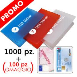 PROMO: Porta Card Motif 1000 pz. + 100 pz. omaggio
