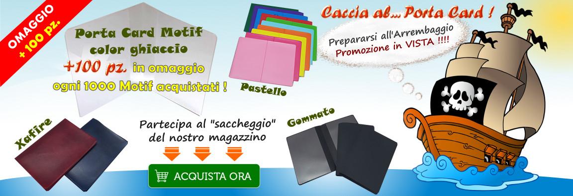 Promozione Porta Card Motif