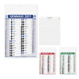 Calendario Back Notes