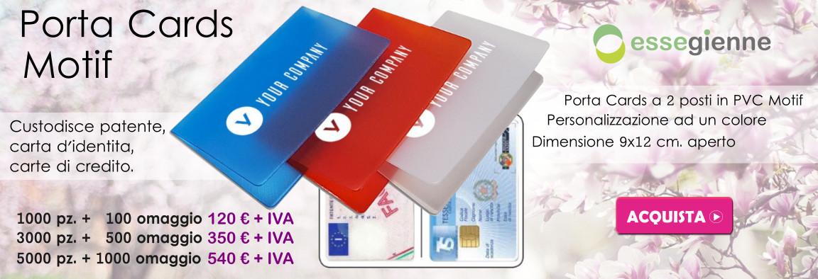 Promo Porta Cards Motif